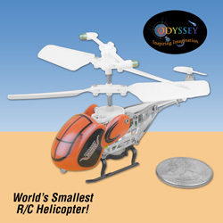 Odyssey Quark Micro R/C Helicopter&nbsp;&nbsp;Model#&nbsp;ODY-7500