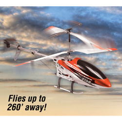 28 inch R/C Helicopter - Orange  Model# CX010