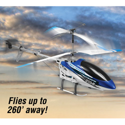 28 inch R/C Helicopter - Blue  Model# CX010