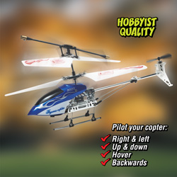3-Channel Gyro Helicopter  Model# RH-6/4978