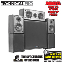 5.1 Channel Home Theater System  Model# HTS12