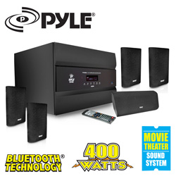 PylePro Home Theater System  Model# PT678HBA