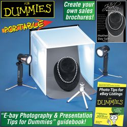Portable Photo Studio For Dummies  Model# PS-102-DUM