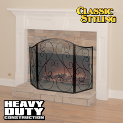 Classic Fireplace Screen&nbsp;&nbsp;Model#&nbsp;DAC-36600