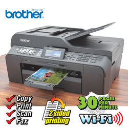 Brother Business All-In-One Printer  Model# MFCJ6510DW