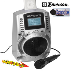 Emerson Karaoke System  Model# SD512S