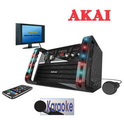 Akai Karaoke System&nbsp;&nbsp;Model#&nbsp;KS212