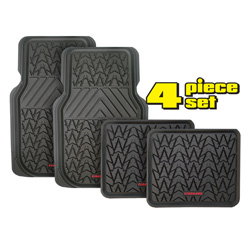 Firehawk Floor Mats - Black  Model# FS-1943