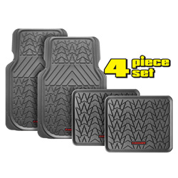 Firehawk Floor Mats - Grey  Model# FS-1945
