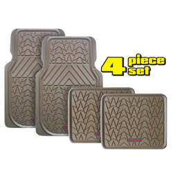 Firehawk Floor Mats - Tan  Model# FS-1948