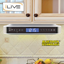iLive Under-The-Cabinet Radio  Model# IKB333S
