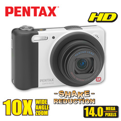 Pentax 14MP Digital Camera  Model# OPTIO RZ10