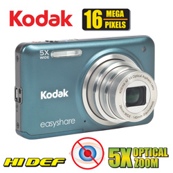 Kodak 16MP Digital Camera&nbsp;&nbsp;Model#&nbsp;M5350GRNBNDLE