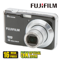 Fuji 16MP Digital Camera  Model# FINEPIX AX-560-BLK