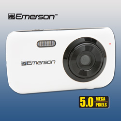 Emerson 5MP Digital Camera  Model# EDC180-WHITE
