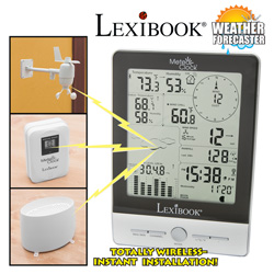 Meteoclock Pro Weather Station  Model# SM1960