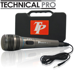 Technical Pro Titanium Wired Mic  Model# MKT77