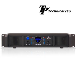 Technical Pro 1100W Professional Power Amplifier  Model# LZ1100