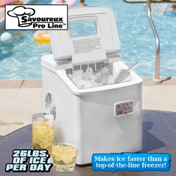 Portable Ice Maker  Model# MZB-12A