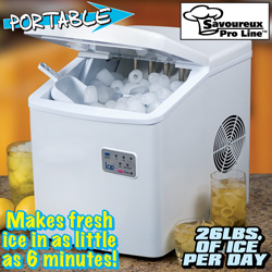 Portable Ice Maker&nbsp;&nbsp;Model#&nbsp;MZB-12A