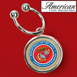 Marines JFK Key Ring&nbsp;&nbsp;Model#&nbsp;5154