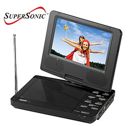 SuperSonic Portable DVD Player 34979