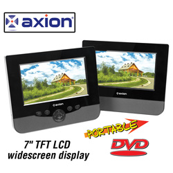 Axion Dual 7 inch DVD Player&nbsp;&nbsp;Model#&nbsp;LMD-7970