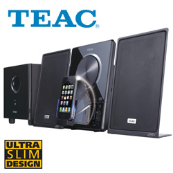 Teac Ultra Thin Hi-Fi Stereo System  Model# MC-DX90I-B