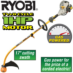 Ryobi 17 Inch Gas Trimmer&nbsp;&nbsp;Model#&nbsp;ZRRY26500