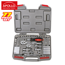 77-Piece Socket Set  Model# DT3409