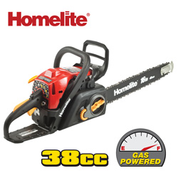 Homelite 16 Inch Gas Chain Saw  Model# ZR10560