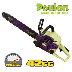 Poulan 18 Inch Chain Saw  Model# P4018WM