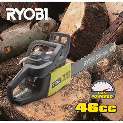 Ryobi 20 inch Gas Chain Saw  Model# ZRRY-10520