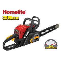 Homelite 14 inch Gas Chain Saw  Model# ZR10548