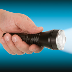 T6 Cree LED 550 Lumen Flashlight  Model# DFL NT109
