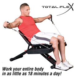 Total Flex Home Gym&nbsp;&nbsp;Model#&nbsp;TR-330-001