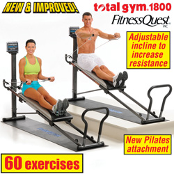 Total Gym 1800 Club  Model# 21300-2