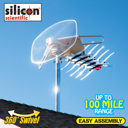 TV Remote Control Rotating Antenna&nbsp;&nbsp;Model#&nbsp;WA-60000TG