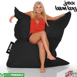 Jaxx Beanbag - Black&nbsp;&nbsp;Model#&nbsp;269