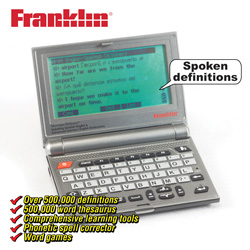 Franklin Speaking Dictionary  Model# SCD-2100R