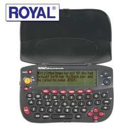 Royal Electronic Bible  Model# KJV1