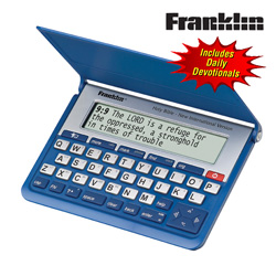 Franklin NIV Electronic Bible  Model# NIV-570