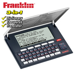 Franklin Dictionary & Thesaurus  Model# MWD-1500R