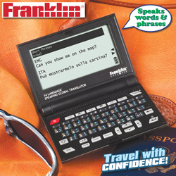 Franklin 14-Language Speaking Translator  Model# FRS-1400R