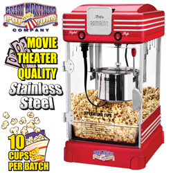 Table Top Popcorn Machine  Model# 6066