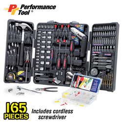 165-Pc. Home Tool Kit&nbsp;&nbsp;Model#&nbsp;W1526