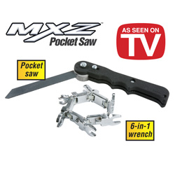 MXZ Pocket Saw &amp; Wrench Kit&nbsp;&nbsp;Model#&nbsp;7838MO