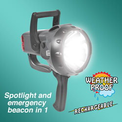 Max Burton 2.5 Million Candlepower Spotlight&nbsp;&nbsp;Model#&nbsp;769372069908