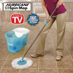 Hurrican Clean Spin Mop  Model# YDMM-011