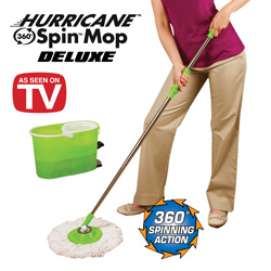 Hurricane Spin Mop Deluxe&nbsp;&nbsp;Model#&nbsp;SMD-4